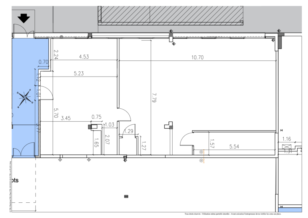 plan lot 14 tamurel location bureaux